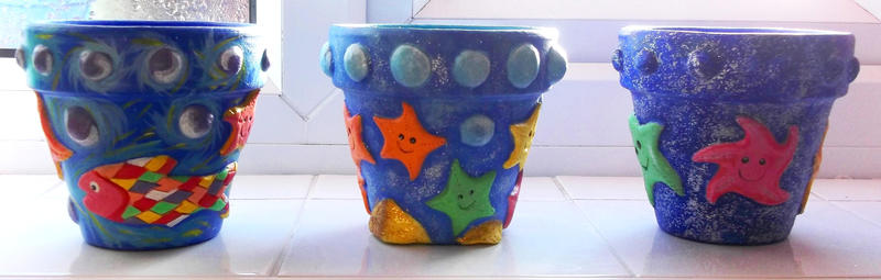 Starfish pot collection