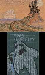 Halloween Doodle #2