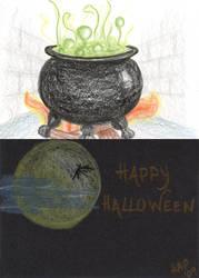 Halloween Doodle #3