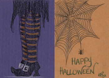 Halloween Doodle #4 by designchick69