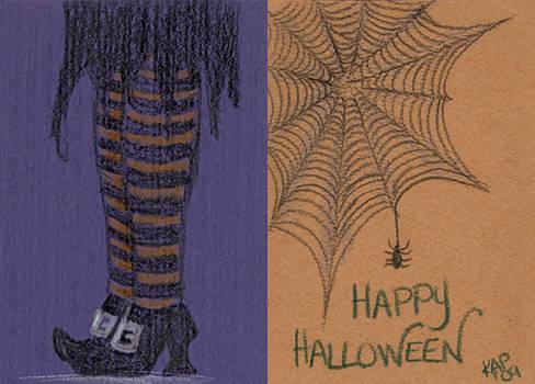 Halloween Doodle #4