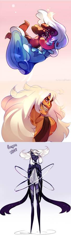 Steven Universe Doodles (spoilers)