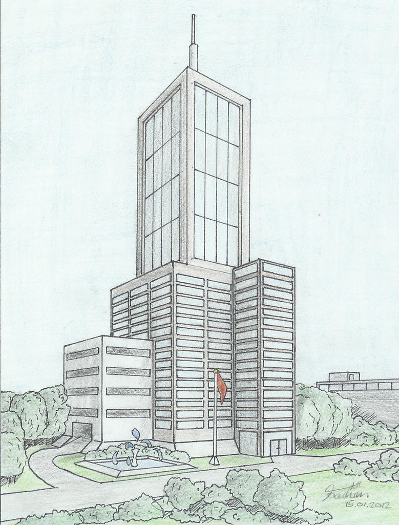 Architectural Drawings Of Skyscrapers skyscraper 02hodoze on deviantart