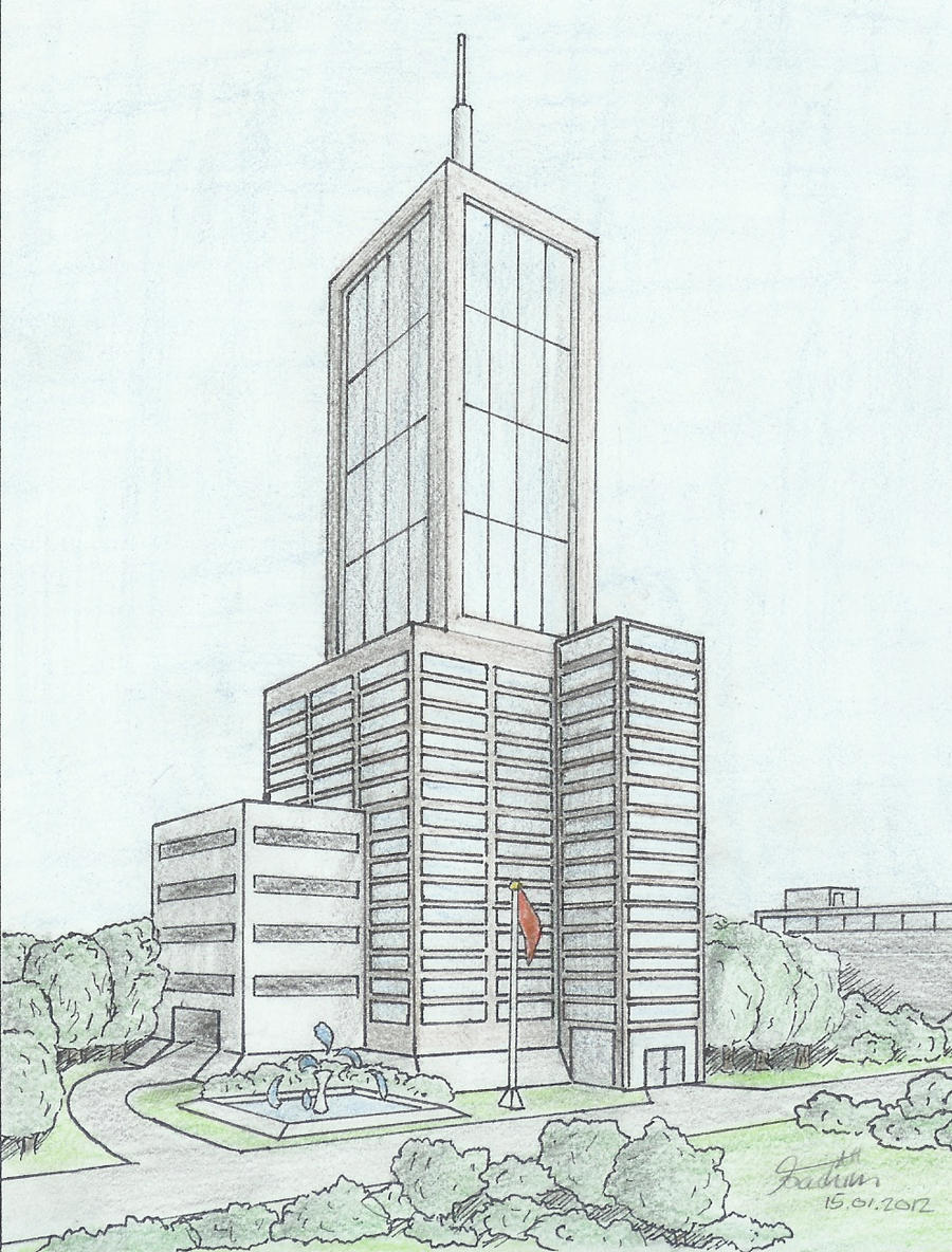 architectural drawings of skyscrapers. Delighful Skyscrapers Skyscraper 02 By Hodoze And Architectural Drawings Of Skyscrapers I