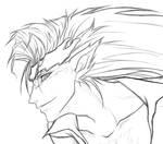 Pantera lineart - detail