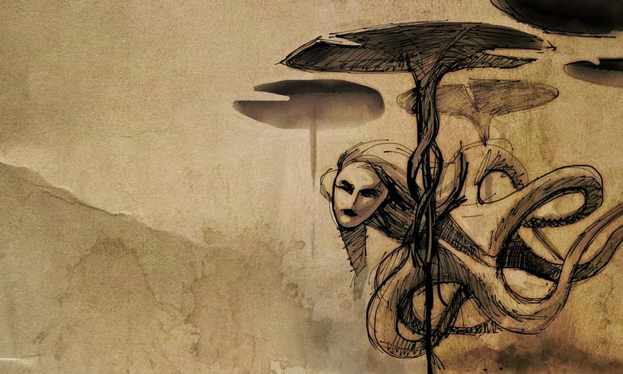 Siren Sketch by mattwatier