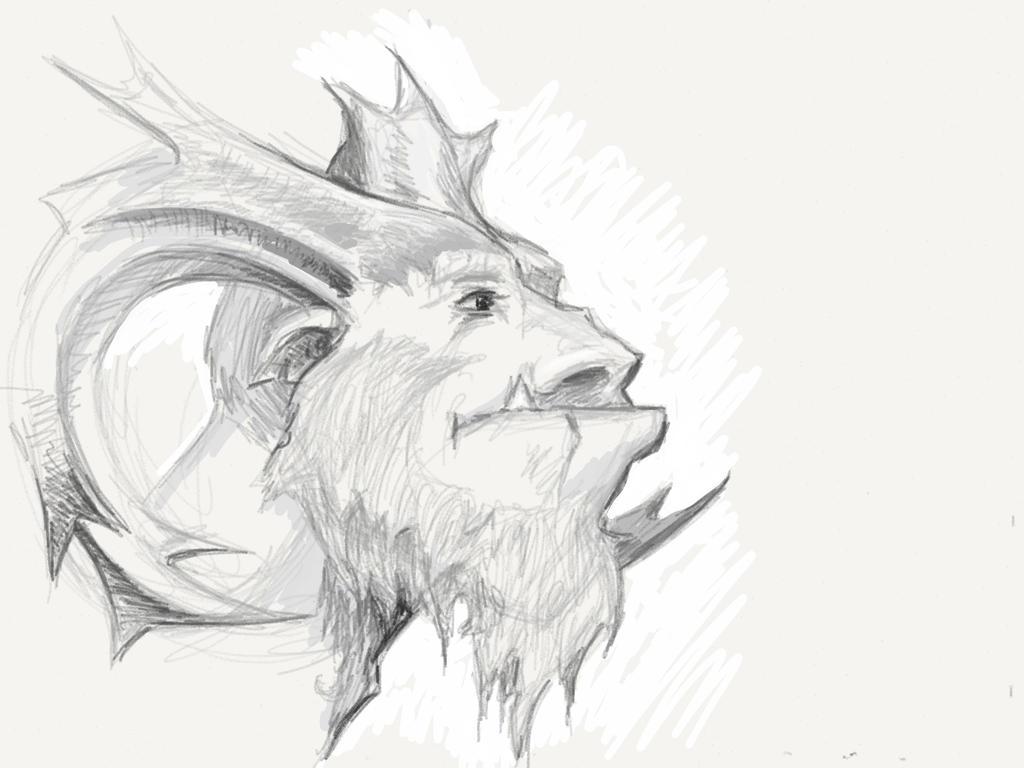Northern God of Winter by mattwatier