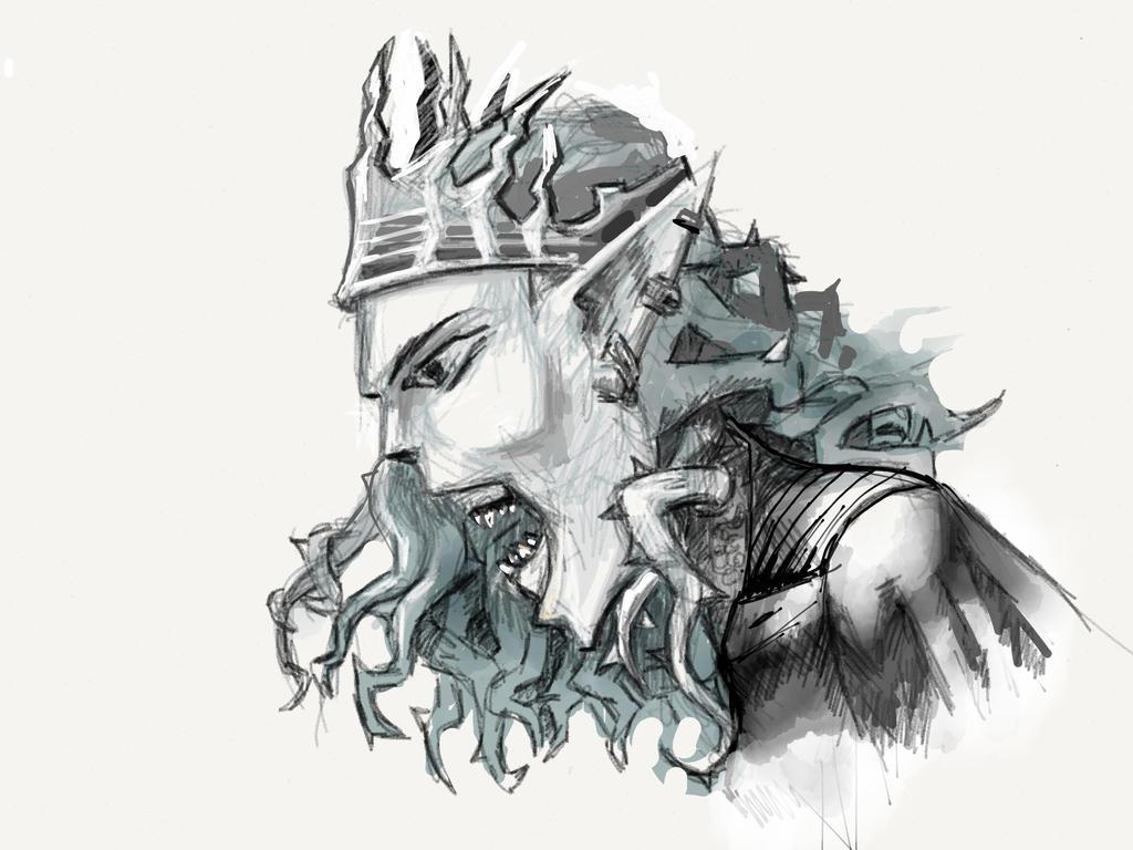 Evil Queen by mattwatier