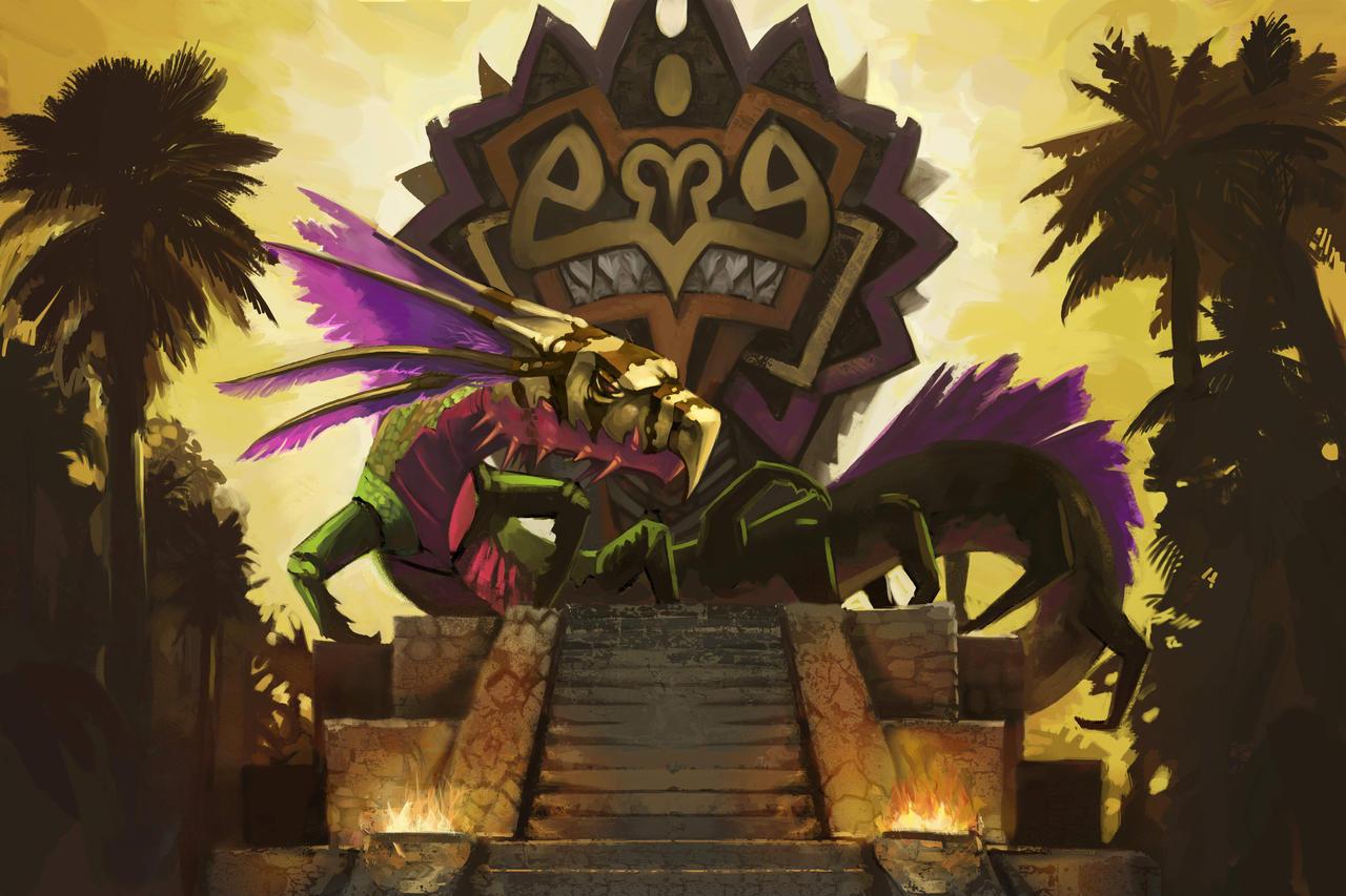 Quetzalcoatl by mattwatier