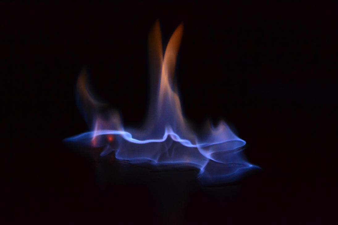 blue fire by MartinRockar