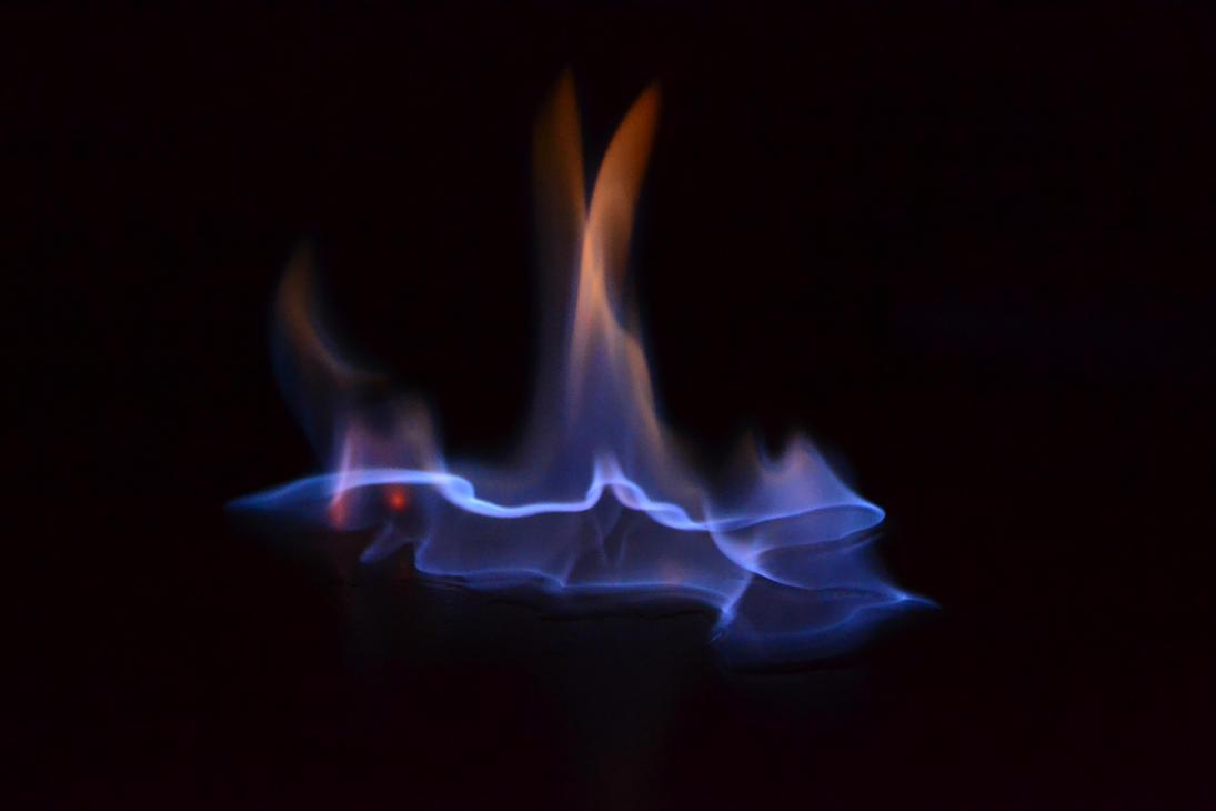 blue fire by MartinRockar