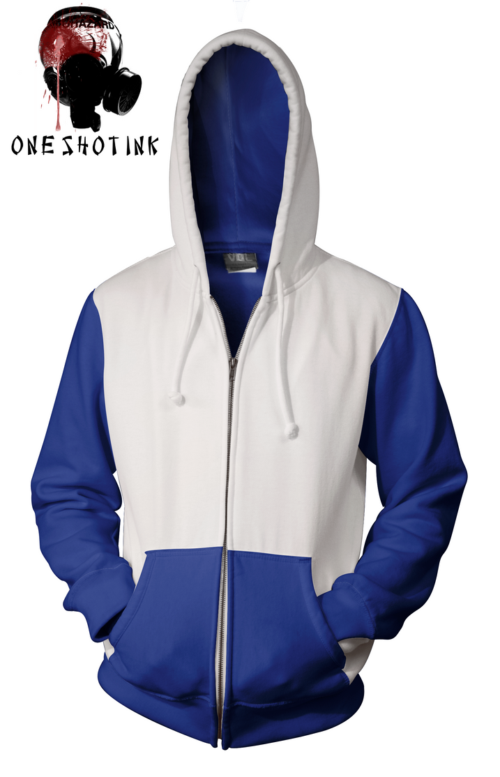 Blue And White Hoodie Photo Album - Reikian
