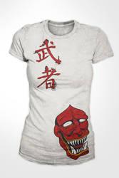 Warrior Shirt by karatealive