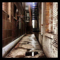The Alleyways by karatealive