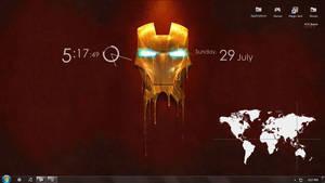 Iron Man melting