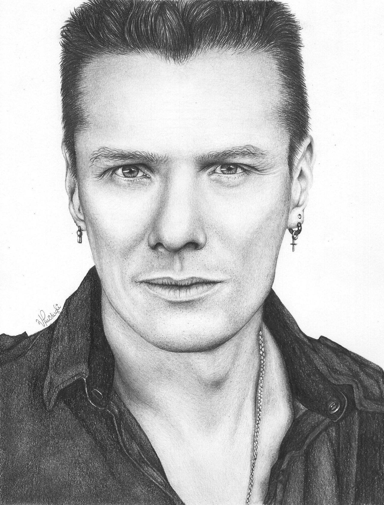 Larry Mullen Jr (U2) by vitoriaguidugli on DeviantArt
