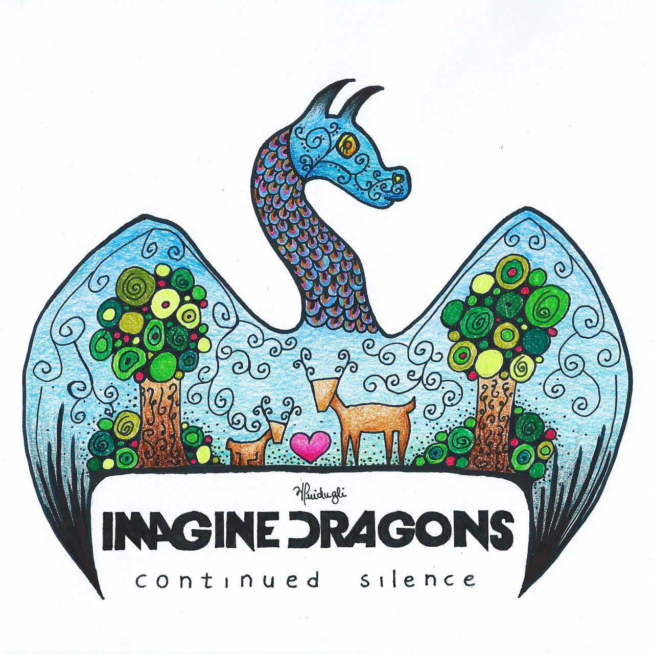 Imagine Dragons Continued Silence Ep by vitoriaguidugli on ... Imagine Dragons Continued Silence