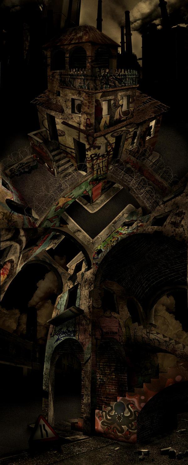 Urban Escher by Rykerua