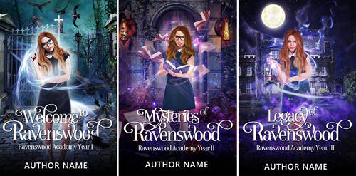 The Ravenswood Trilogy (SOLD)