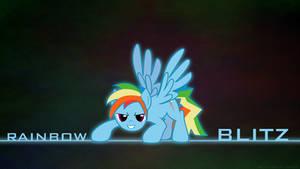 Rainbow Blitz Wallpaper
