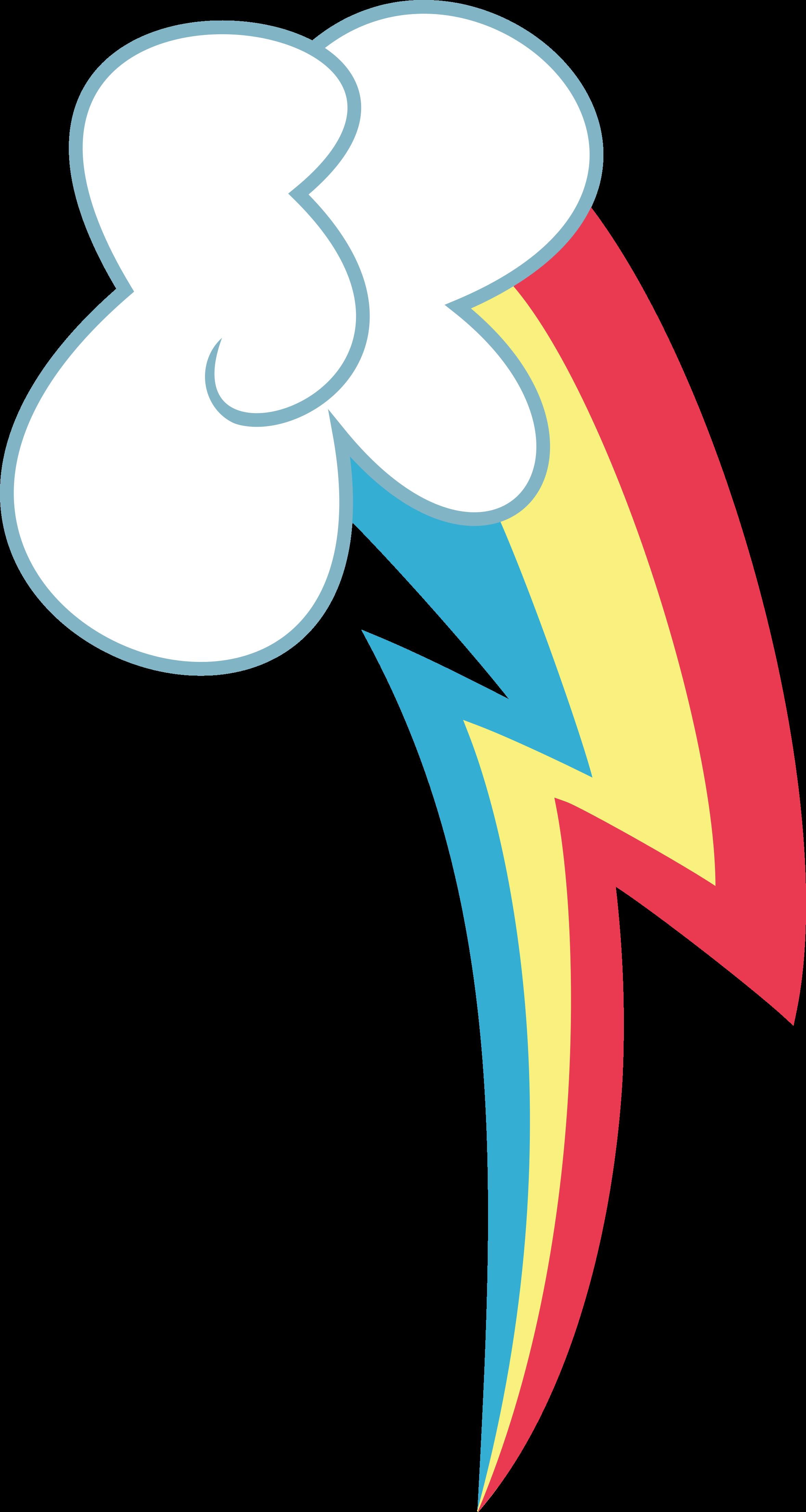 Rainbow Dash's Cutie Mark by BlackWater627 on DeviantArt