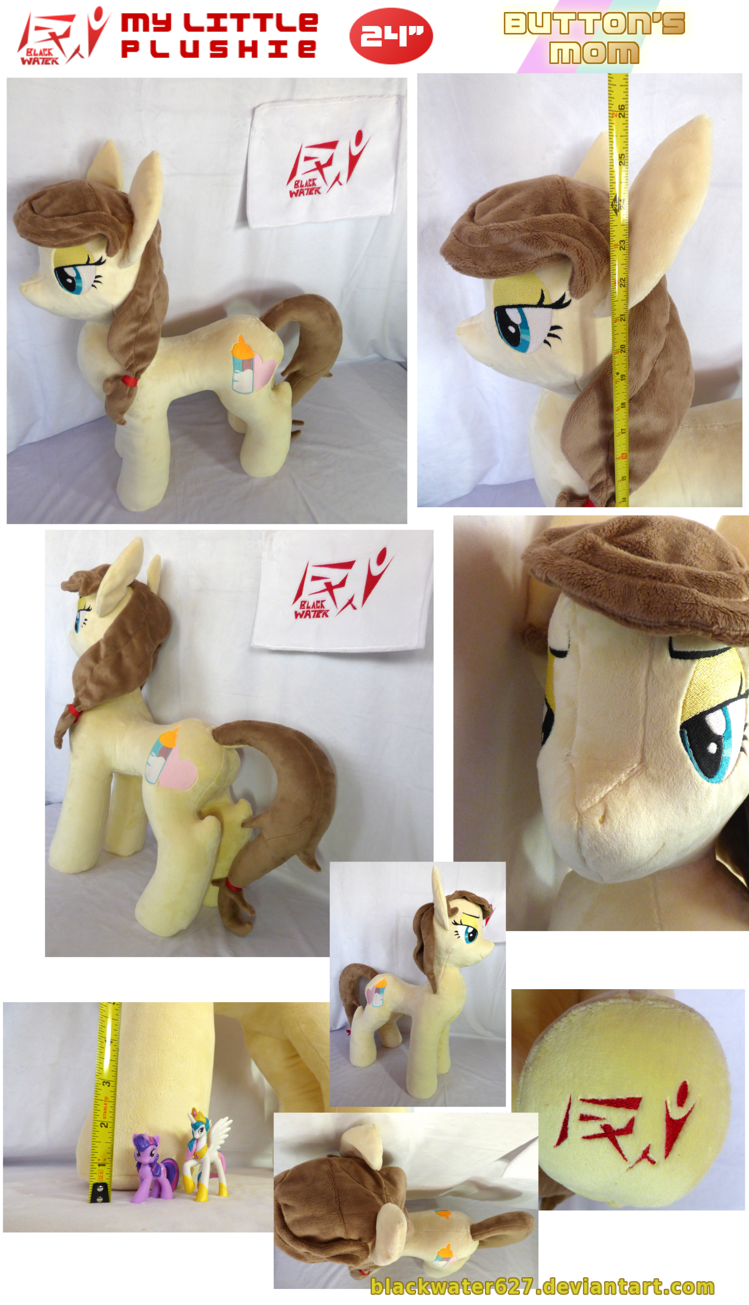 My Little Plushie: Button's Mom