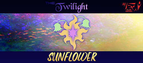 The Twilight Sunflower (Cover) by BlackWater627