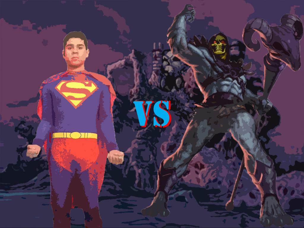 Superman VS Skeletor by badger4r on DeviantArt