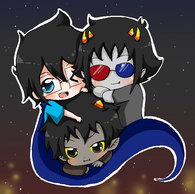 Karkat John Livejournal John Sollux And Karkat by