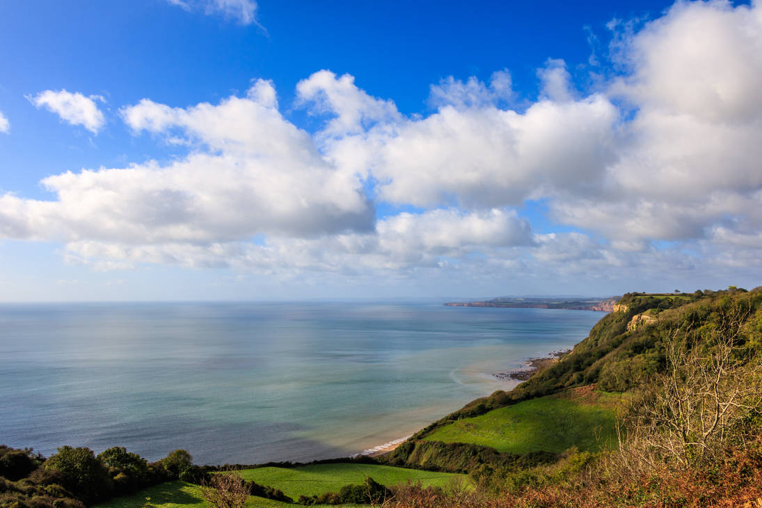 A view of the Jurassic Coast