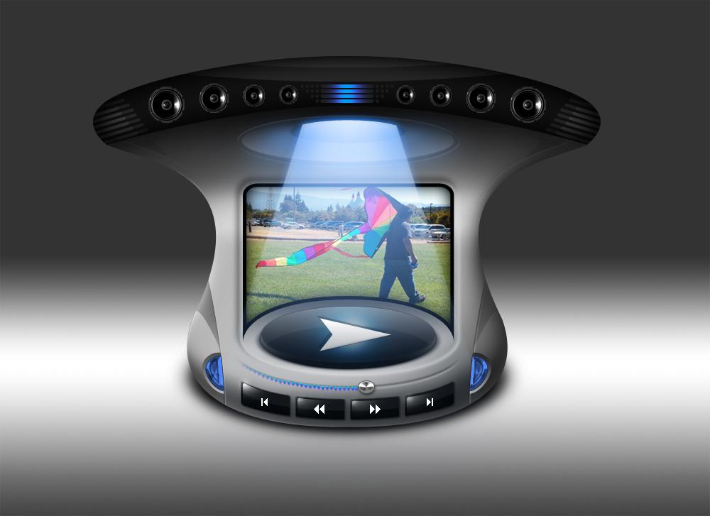 Video Player UI Design by mycort on DeviantArt