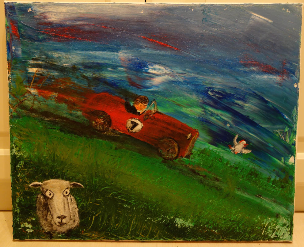 Jerry was a race car driver II by LesleyHammond