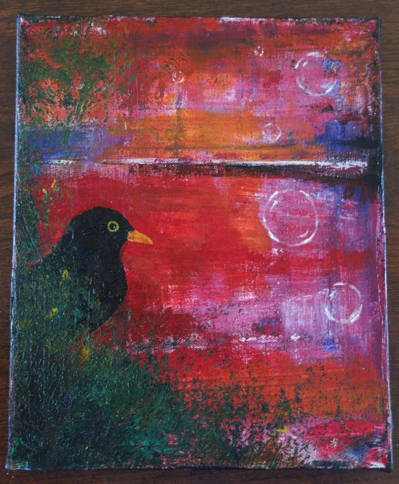 Blackbird by LesleyHammond