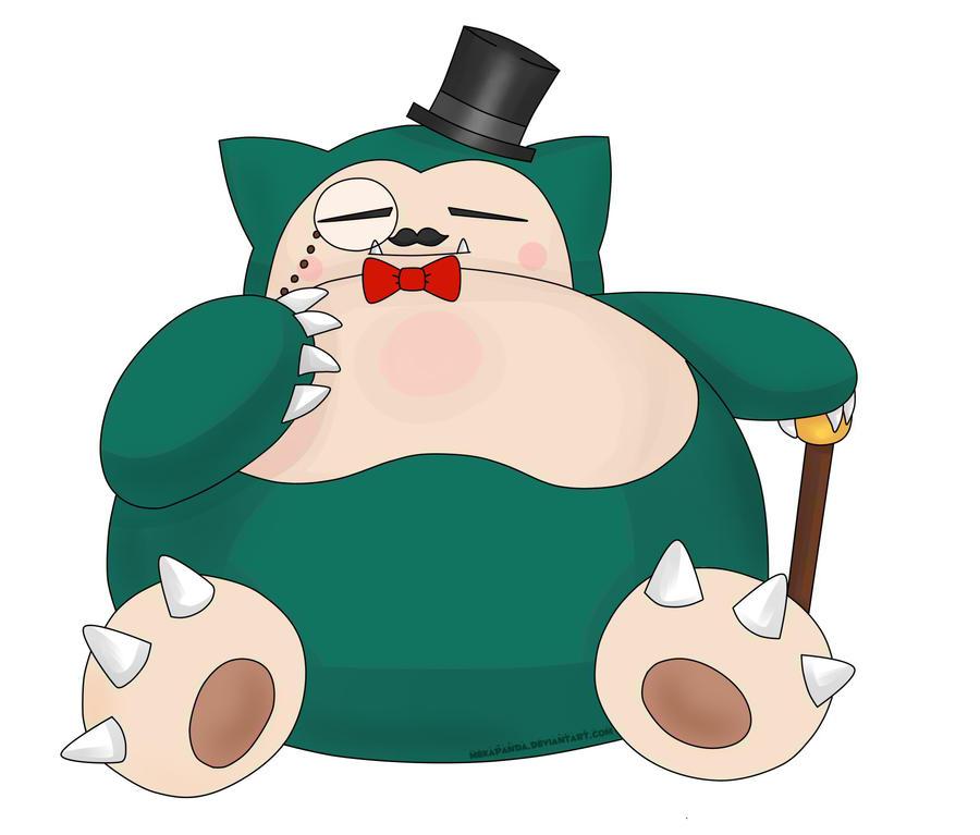 Mister Snorlax by mekapanda