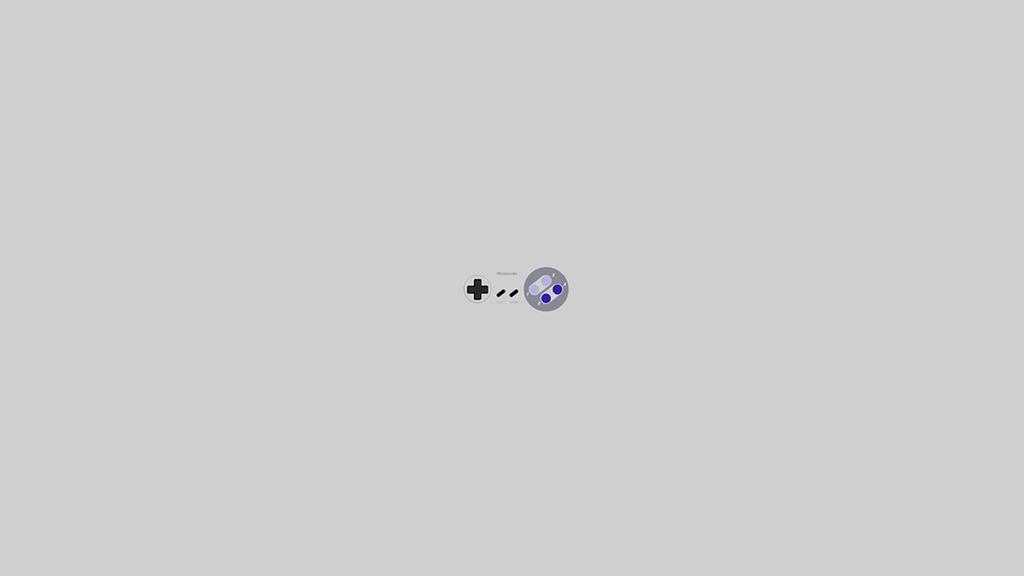 Super Nintendo Minimalist Wallpaper Game Coll By