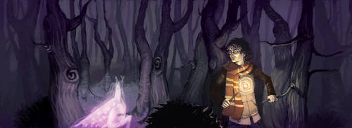 Harry Potter Book Cover by iiBleachedii