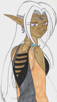 Dark Elf Princess Aurora