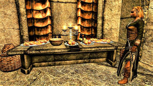 Rkung-Zel Quarters: Dessert Table