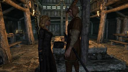 Nightgate Inn II: Langwen and Fultheim by FemaleBosmerAlways