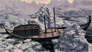 Nordic Drakkar: Forever Entombed in the Ice