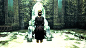 Langwen on the tyrant's throne