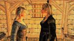 Alina (Delphine), Parce(Langwen) say farewell by FemaleBosmerAlways