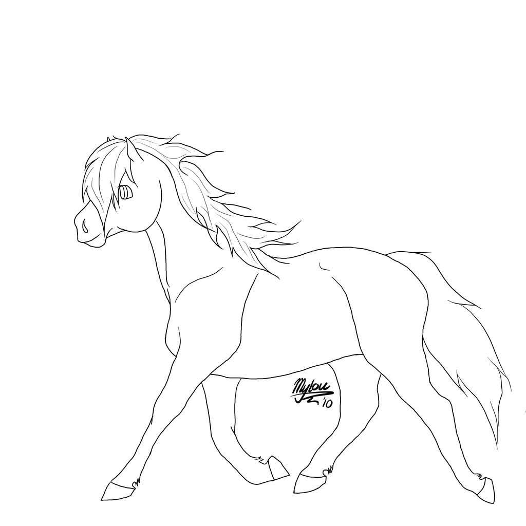 Free LA trotting horse by Frambs on DeviantArt