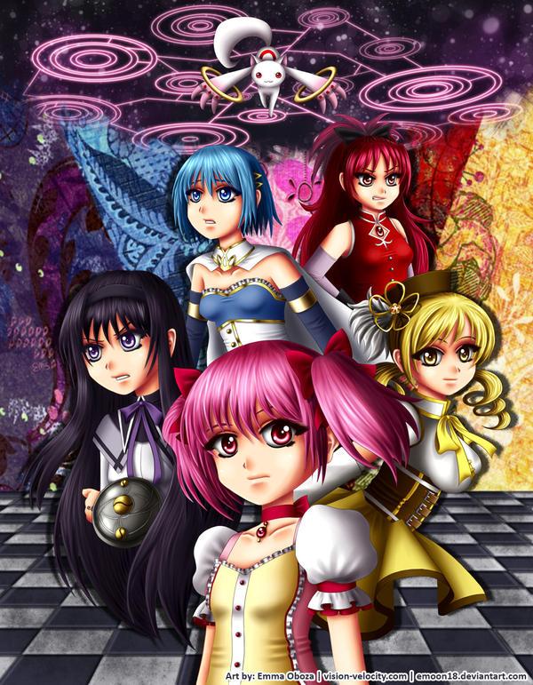 Fanart - Puella Magi Madoka Magica by Emoon18