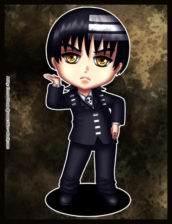 Fanart - Death The Kid chibi by VisionVelocity
