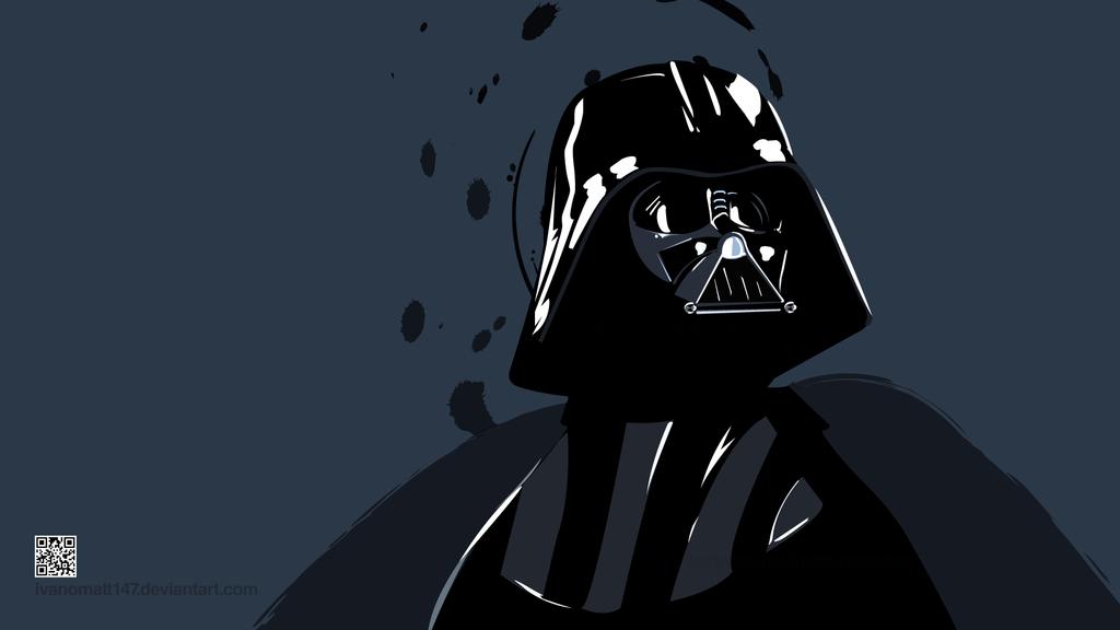Darth Vader Vector Wallpaper By IvanoMatt147