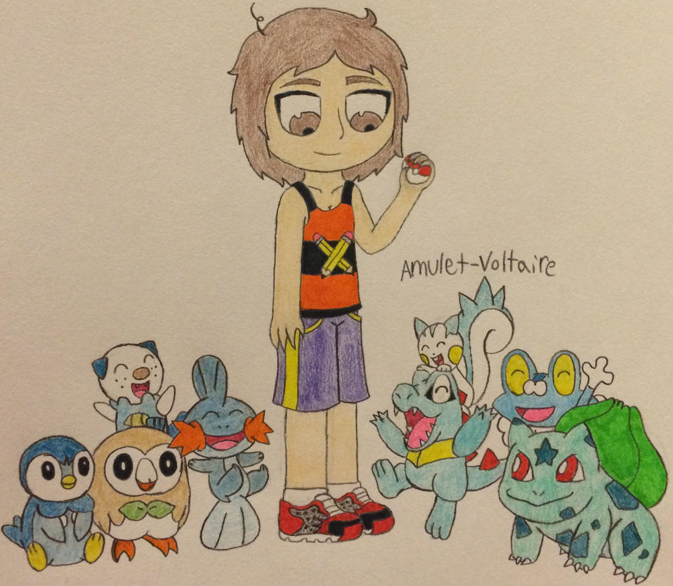 My Pokemon Starters by Amulet-Voltaire