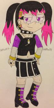 Character Mashup - MagiPunk-CyberPunk Goth