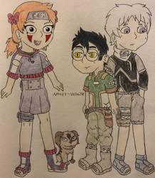 Naruto OCs - Team 6 Genin