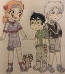 Naruto OCs - Team 6 Genin by Amulet-Voltaire